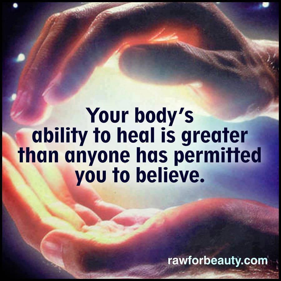 Your body s healing abilityn